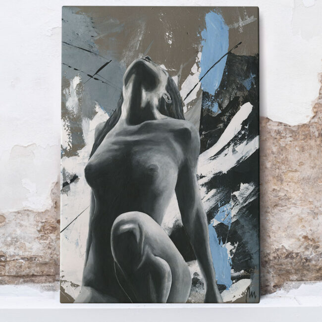 naked woman painting, art shop online