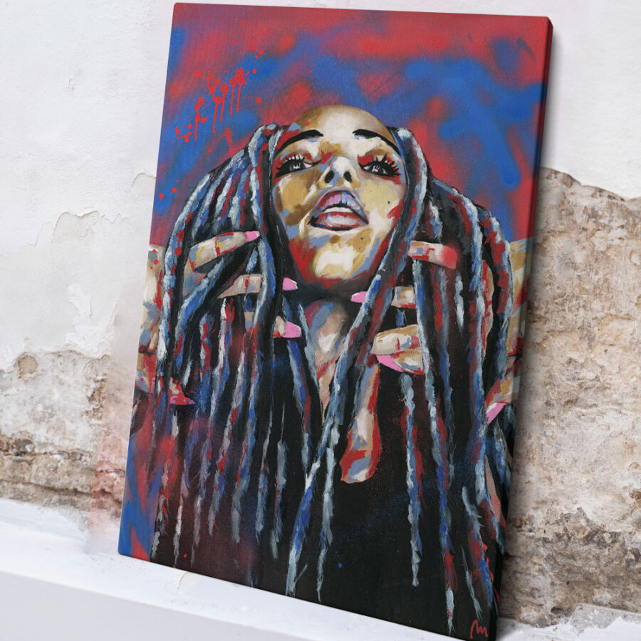 painting of Rimon, artwork of Rimon