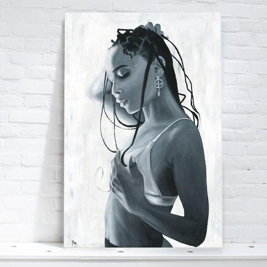 Artwork of Zoe Kravitz, painting of Zoe Kravitz for sale