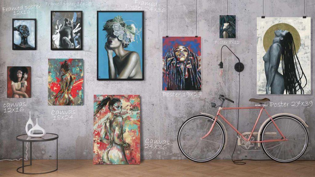 art shop online,