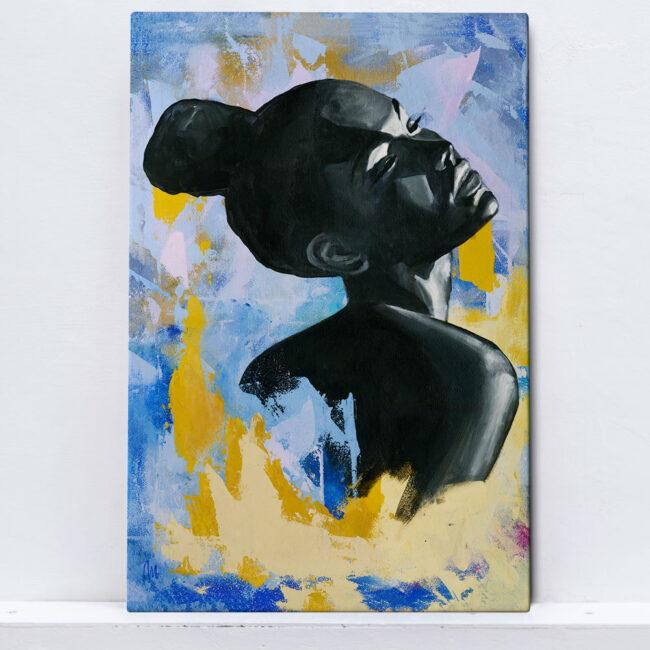 abstract woman artwork