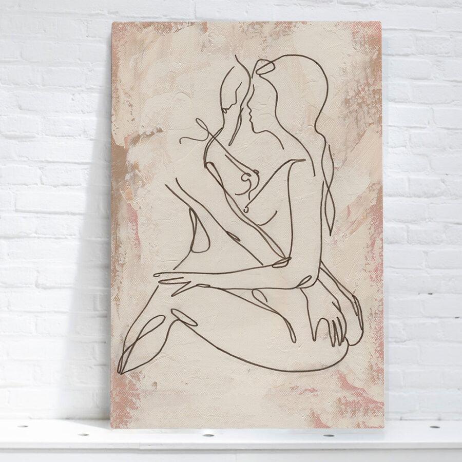 artwork women lines